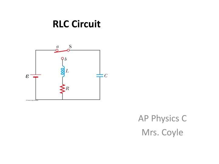 rlc circuit n.