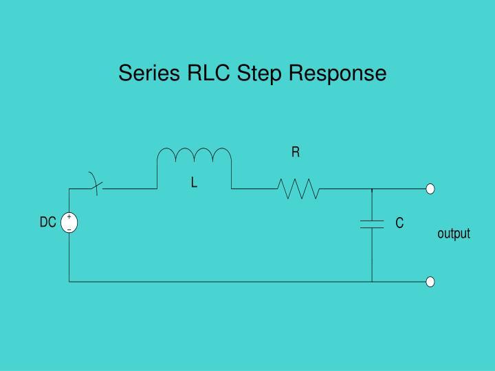 series rlc step response n.