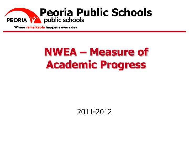 Ppt Nwea Measure Of Academic Progress Powerpoint