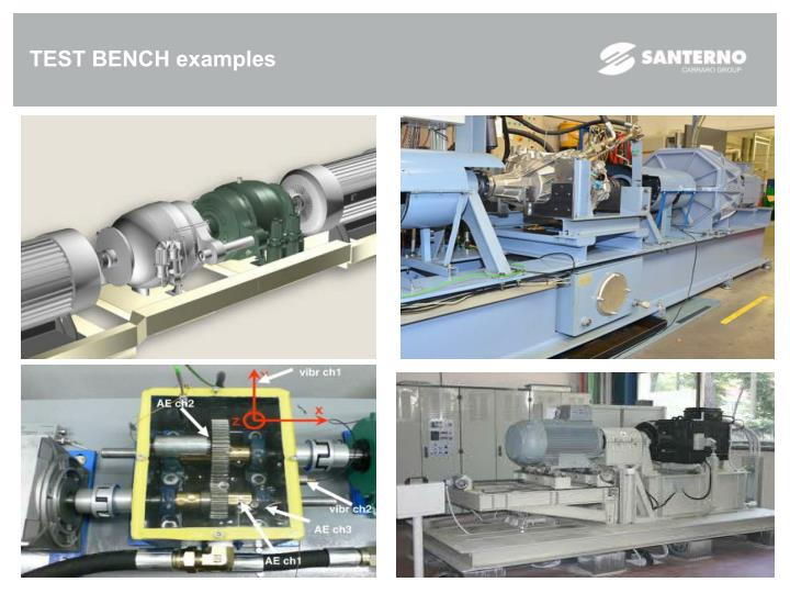 TEST BENCH examples