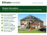 dimplex renewables complete renewable solutions for commercial buildings