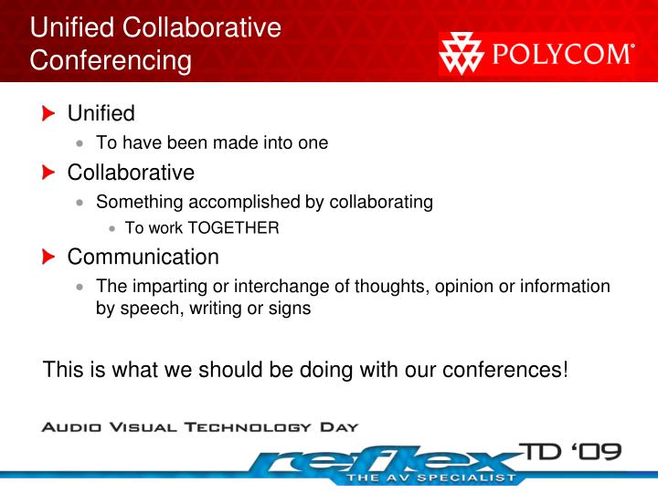 Unified Collaborative