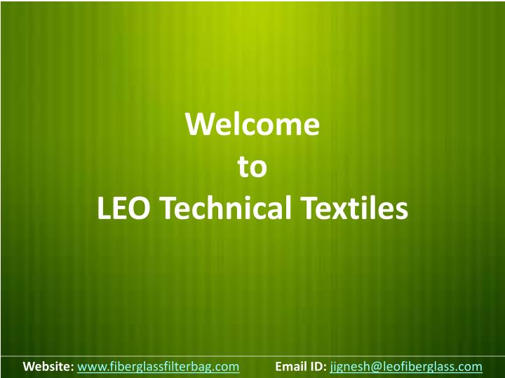 welcome to leo technical textiles n.