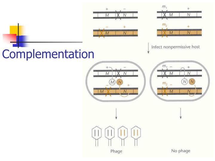 Complementation