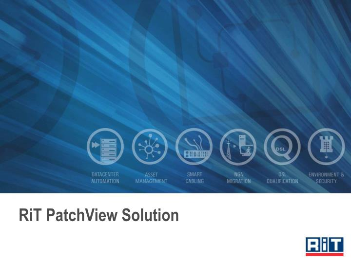rit patchview solution n.