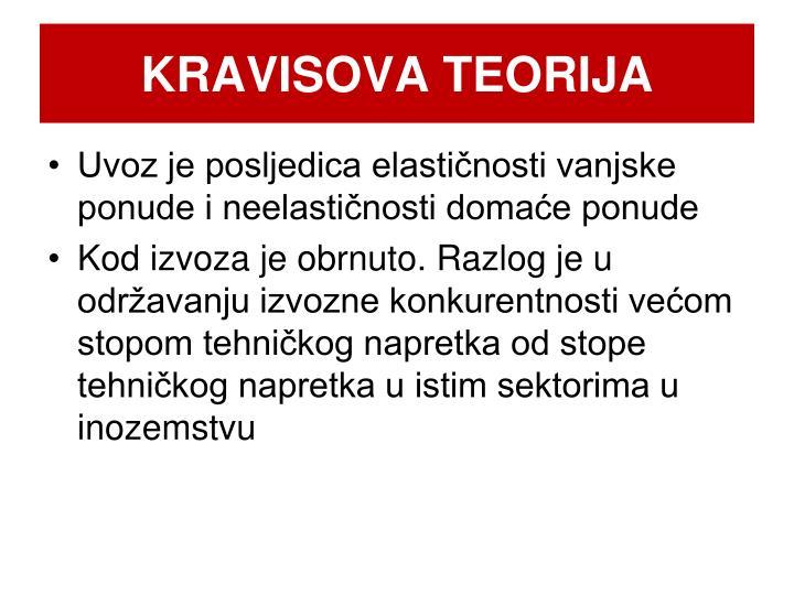 KRAVISOVA TEORIJA