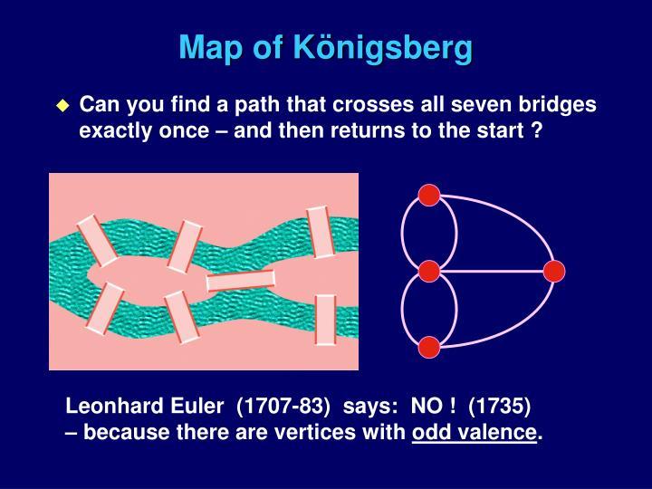 Map of k nigsberg