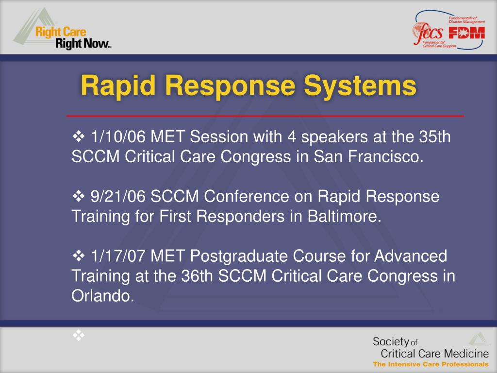 PPT - Rapid Response Systems PowerPoint Presentation - ID