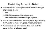 restricting access to data1