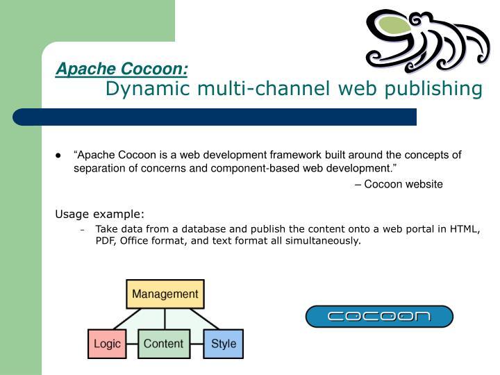 Apache Cocoon: