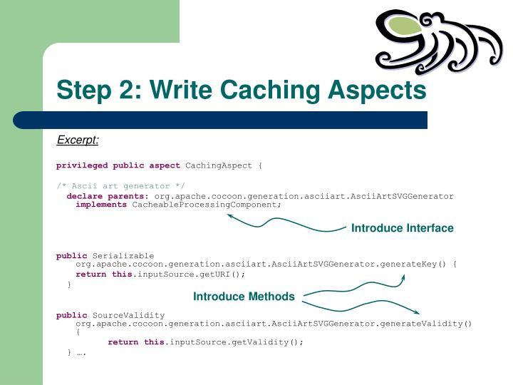 Step 2: Write Caching Aspects