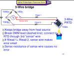 3 wire bridge