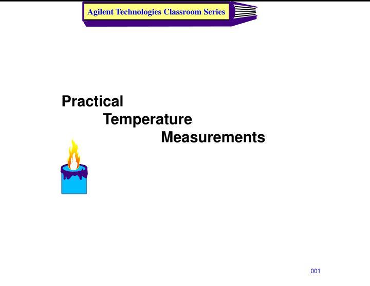 practical temperature measurements n.