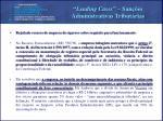 leading cases san es administrativas tribut rias1