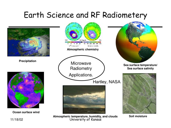 Earth Science and RF Radiometery