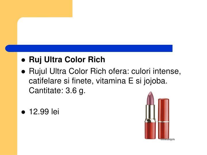 Ruj Ultra Color Rich