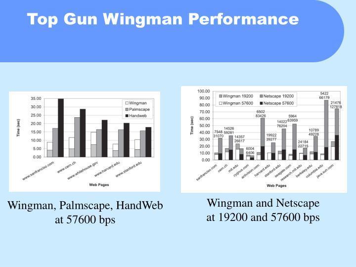 Top Gun Wingman Performance