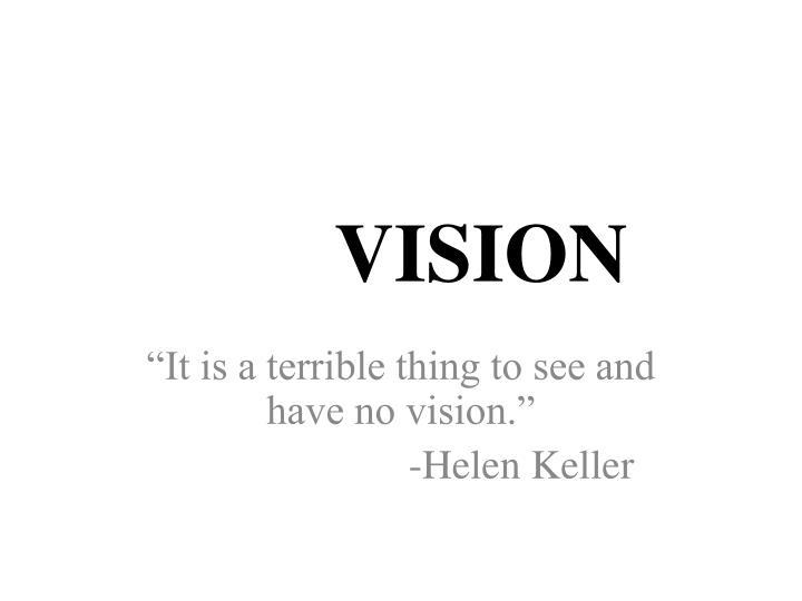 vision n.