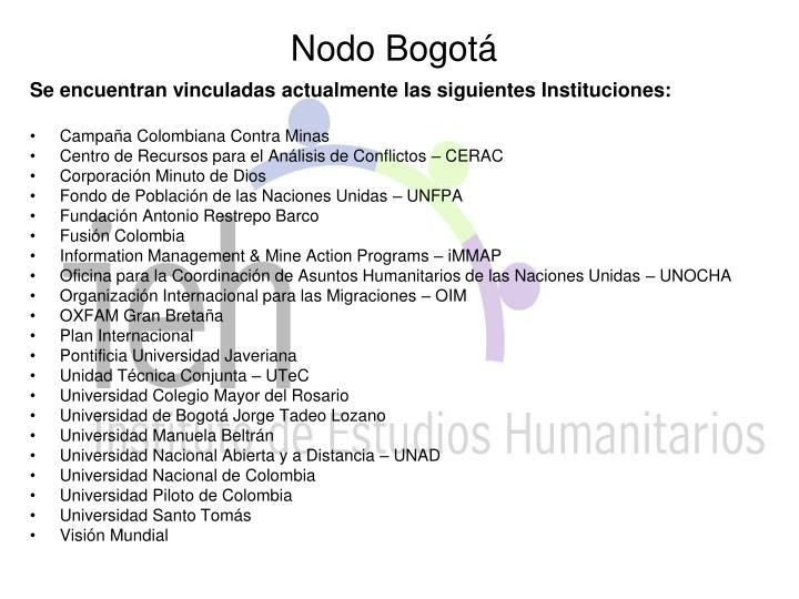 Nodo Bogotá