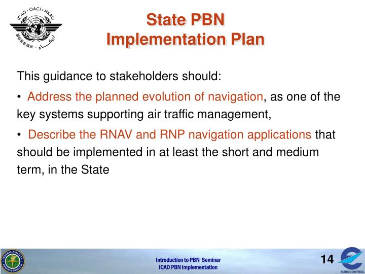 State PBN Implementation Plan