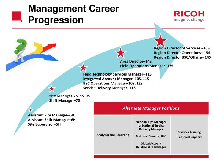 Management Career Progression
