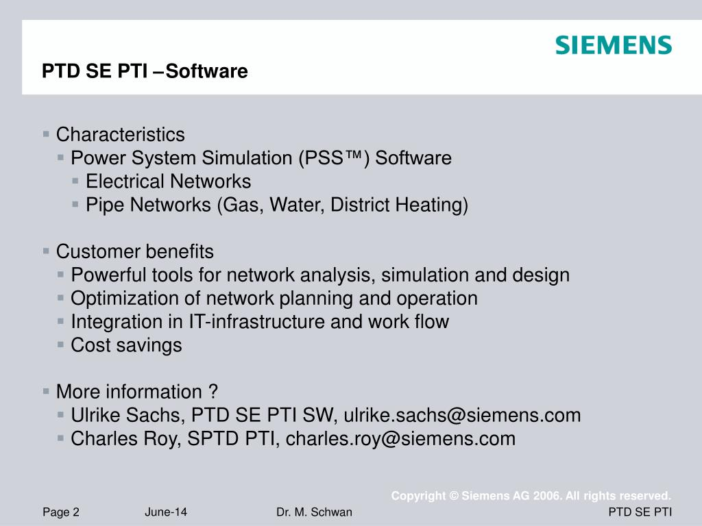 """PPT - Planning of electrical networks with PSSâ""""¢SINCAL PowerPoint"""