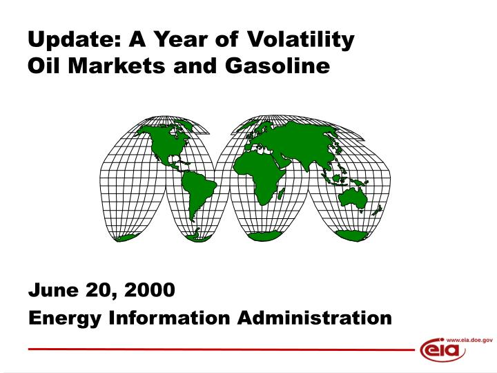 update a year of volatility oil markets and gasoline