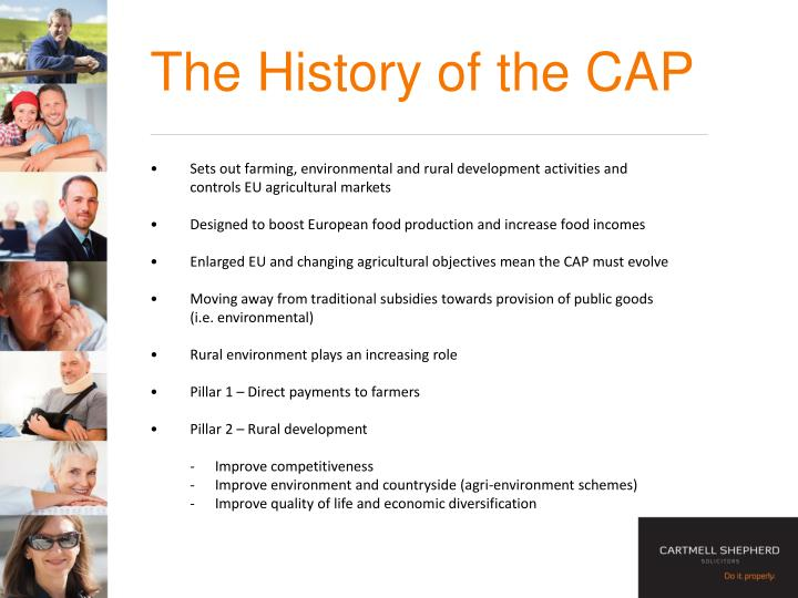 The History of the CAP