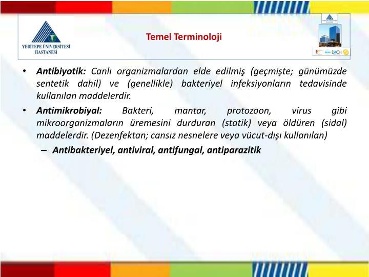 Temel Terminoloji