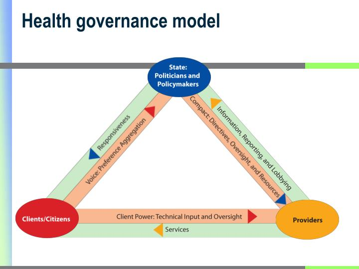 Health governance model
