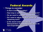 federal awards