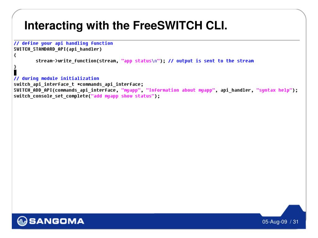 Freeswitch Commands