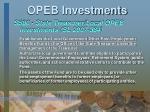 opeb investments