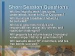 short session questions3