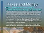 taxes and money10