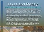 taxes and money16