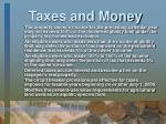 taxes and money17