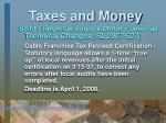 taxes and money19