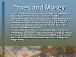 taxes and money2