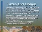 taxes and money21