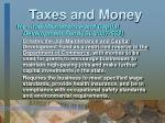 taxes and money22