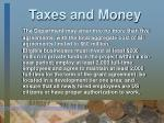taxes and money23