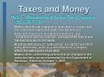 taxes and money24