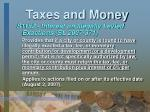 taxes and money25