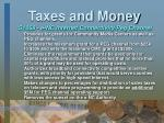 taxes and money26