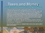 taxes and money27