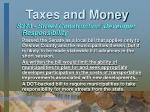 taxes and money29