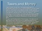 taxes and money3
