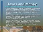 taxes and money34