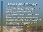 taxes and money7